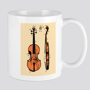 Fiddle Patent Mug