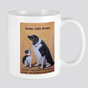 Border Collie Wisdom Mug