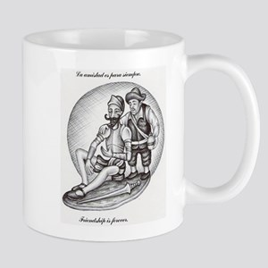 Don Quixote and Sancho Mugs