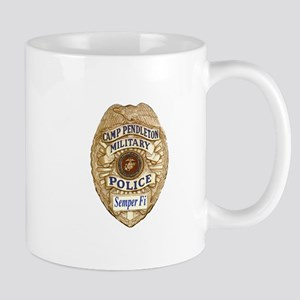 Camp Pendleton Military Police Mugs