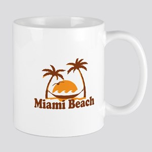 Miami Beach - Palm Trees Design. Mug