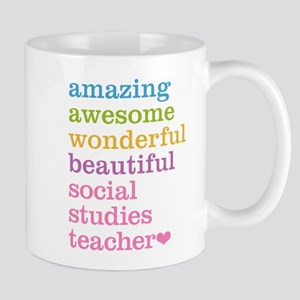 Social Studies Teacher Mugs
