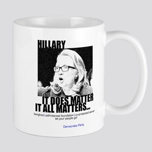 Hillary Clinton LET YOUR PEOPLE GO Mug