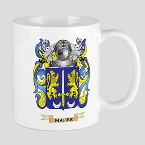 Maher Coat of Arms - Family Crest Mug
