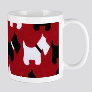 Scottish Terrier Scottie Dog Pattern Mugs