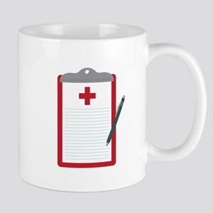 Medical Notes Mugs