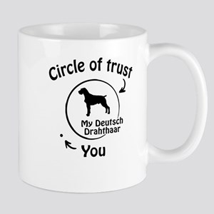 Circle Of Trust My Deutsch Drahthaar Funny Gift 11