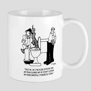 Plumbing Cartoon 2407 11 oz Ceramic Mug