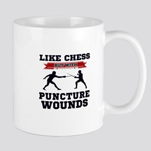 Like Chess But Without Puncture Wounds Mugs