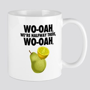 lemon on a pear - funny Mugs