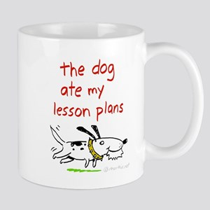 dog-ate-plans Mugs