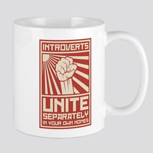 Introverts Unite Separately In Your Own Homes Mugs