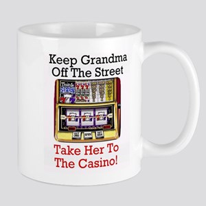 Grandma's Lucky Casino Mug - Great Gift idea!