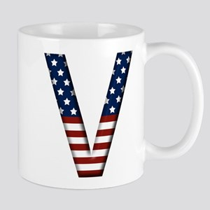 V Stars and Stripes Mug