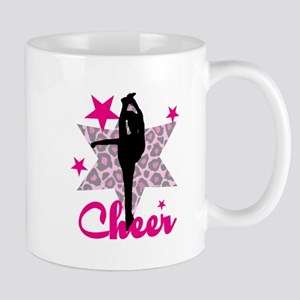 Pink Cheerleader Mugs