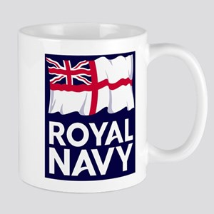 Royal Navy logo sm 11 oz Ceramic Mug
