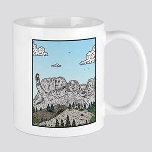 Mt Rushmore selfies Mugs
