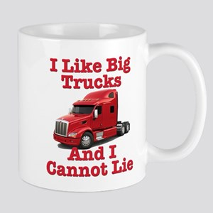 I Like Big Trucks Peterbilt Mug
