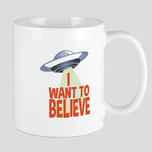 Want To Believe Mugs