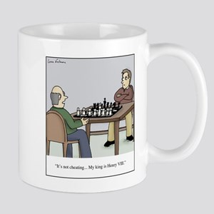 Chess like Henry VIII 11 oz Ceramic Mug
