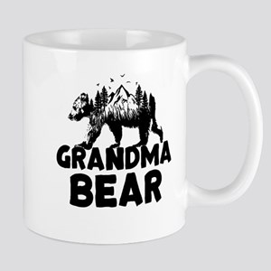 Grandma Bear Woods Mugs