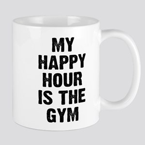 My happy hour is the gym Mug