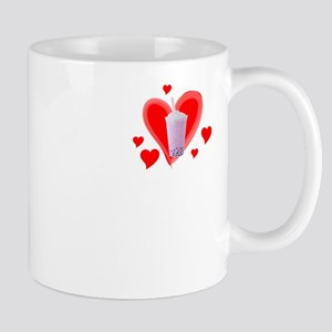 Love Tapioca Pearls print for Bubble Tea Fan Mugs