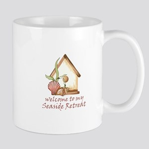 SEASIDE RETREAT Mugs