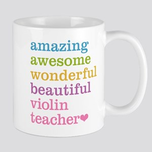 Violin Teacher Mugs
