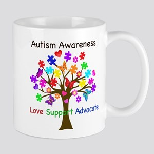 Autism Awareness Tree Mug