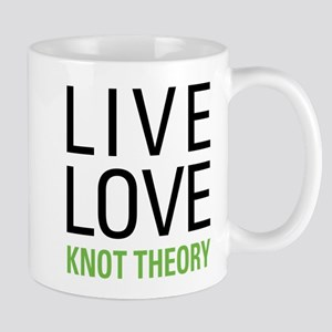 Live Love Knot Theory Mug