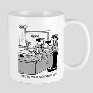 Bank Cartoon 2922 11 oz Ceramic Mug