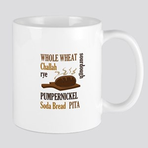 BREAD TYPES Mugs