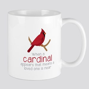 When Cardinal Appears Mugs