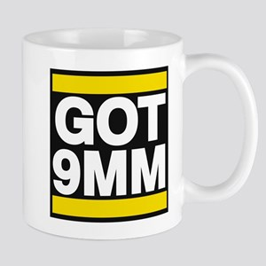 got 9mm yellow Mug