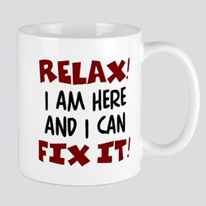 relax i am here 11 oz Ceramic Mug