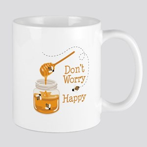 Dont Worry Be Happy Mugs