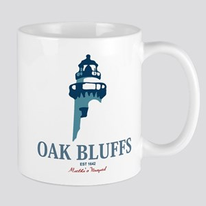 Oak Bluffs - Martha's Vineyards. Mug Mugs