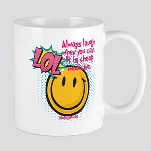 lol smiley Small Mug