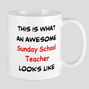 awesome sunday school teacher 11 oz Ceramic Mug