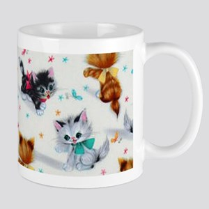 Cute Playful Kittens Mugs