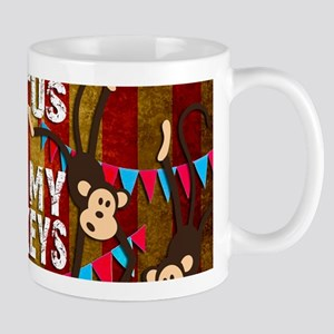 Monkeys NOT My Circus Mugs