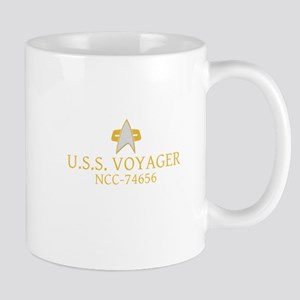Star Trek: DS9 and Voyager Ship Name Mug