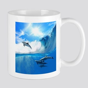Beautiful Dolphins Mug