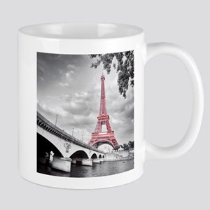 Pink Eiffel Tower Mugs