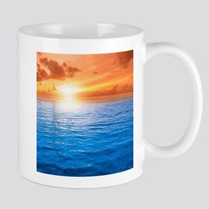Ocean Sunset Mugs