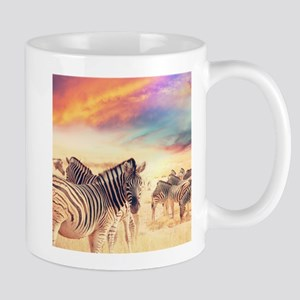 Beautiful Zebras Mugs