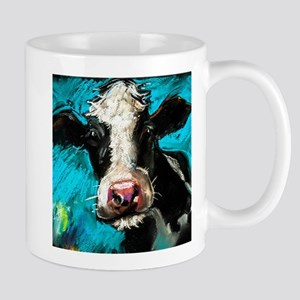 Cow Painting Mugs