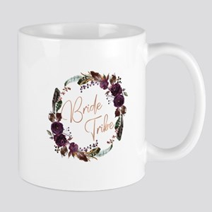 Boho Bride Tribe Wreath Mugs