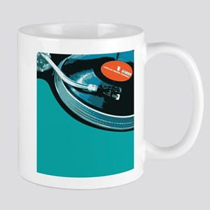 Turntable Vinyl DJ Mug